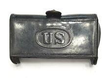 McKeever Cartridge Box – Model 1881 – Marked Rock Island - 3rd pattern
