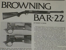 BROWNING BAR-22 SEMI-AUTO RIFLE EXPLODED VIEW