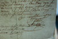 1850 manuscript document handwritten watermarked paper symbol READY TO FRAME