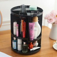 360° Versatile Rotating Glam Beauty Caddy Cosmetic Organizer Make-up Home Holder