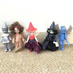 Lot of 5 Madame Alexander Wizard Of Oz Dolls McDonalds Happy Meal Toys