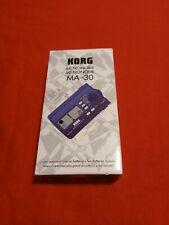 Korg Ma-30 Compact Digital Pocket Metronome Music Tuner - Blue (Fe1027214)