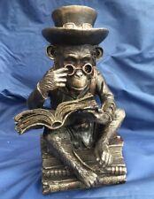 Steampunk Chimpanzee Scholar Nemesis Now New Boxed Ornament