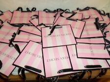 10 Victoria's Secret Love Victoria Shopping Gift Paper Bags Iconic Stripes