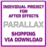 After Effects Project - Cinematic Parallax -  Shipping Via Download