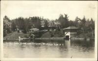 Mountain View NY Indian Lake House & Cottages c1920s Real Photo Postcard