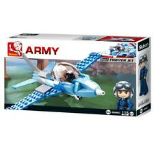 New Sluban Kids Army War Craft Fighter Jet Building Blocks 115 Pcs Building Toy