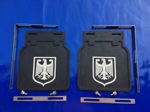 MUD FLAPS SPLASH GUARD GERMAN EAGLE Fits For VW BEETLE BUG BUS BAY SPLIT OVAL