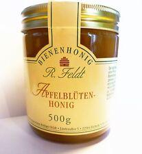 Honig Apfel Blütenhonig aus Südtirol 100% naturreiner Bienenhonig 500g Glas  !