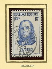 STAMP / TIMBRE FRANCE OBLITERE N° 1085 CELEBRITE / BENJAMIN FRANKLIN