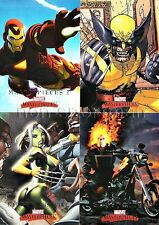 MARVEL MASTERPIECES 2008 SERIES 2 SET OF 90 CARDS