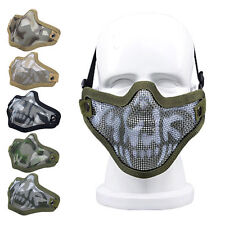 Nuprol Mesh Lower Face Shield Skull airsoft MILSIM Protection FREE UK Shipping!