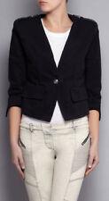Manteaux et vestes noir coton pour femme