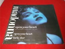"Madonna:  Open Your Heart    1986   EX+   12""   W8480T"