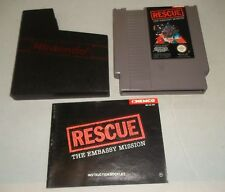 Nintendo Entertainment System NES Konsole Game-retten die Embassy Mission