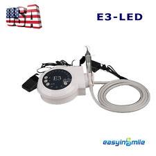 Dental Ultrasonic Scaler With LED Metal Detachable Handpiece Fit EMS EASYINSMILE
