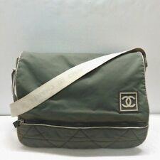 CHANEL Sports Line Shoulder Bag Messenger Bag Free Shipping [Used]