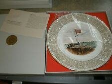 Lenox Collector Plate Trustees of the White House of the Confederacy Fort Sumter