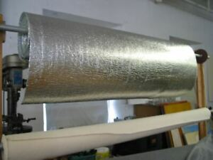 Micro-E Reflective Insulation Thermal Blinds Curtains Fabric Very Flexible 30m2