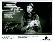 MIMI ROGERS signed autographed LOST IN SPACE MAUREEN ROBINSON photo