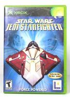 Star Wars Jedi Starfighter Xbox Game Complete
