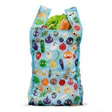 Reusable Shopping Bag | Foldable Bag | Vegan Eco-Friendly Bag With a Pocket