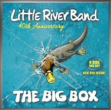 LITTLE RIVER BAND - THE BIG BOX 40TH ANNIVERSARY 5 CD+DVD NEU