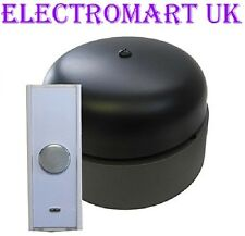 WIRELESS CORDLESS RETRO CLASSIC RING DOOR BELL 180M RANGE 95 DECIBEL