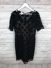 KALIKO Lace Dress - Size UK10 - Black - Great Condition - Women's