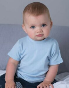 BabyBugz Baby/Kinder T-Shirt Baumwolle FairWear ÖkoTex Druckknöpfe BZ02 NEU