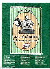 PUBLICITE ADVERTISING 056  1987  la Boutique J.C Jézéquel   mode au masculin