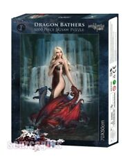 NEW * DRAGON BATHERS * JAMES RYMAN GOTHIC DRAGON FANTASY ART 1000 PIECE JIGSAW