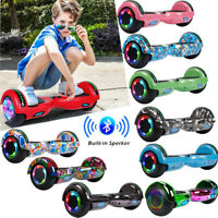 "6.5"" Hoverboard Bluetooth LED Electric Self Balance Scooter with Bag UL2272 CE"