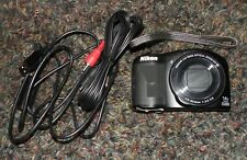 Nikon Coolpix L610 Digital Camera black for Parts or Repair ONLY as-is