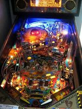 Judge Dredd Pinball Playfield Light mod BLUE or RED