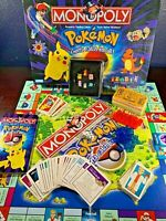 Board Game POKEMON MONOPOLY Complete 1999 Set Charizard TCG
