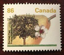 Canada #1372i 86c Bartlett Pear, CBN, GT4, Harrison Paper, Perf 13.1
