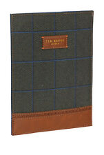 Men's Ted Baker, Green,Tweed Mini iPad Sleeve