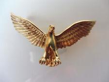 schöner,alter Anhänger__Adler__925 Silber vergoldet__5,5cm__925 FB__!