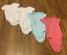 Lot of 4 Carter's 6 month one-pieces