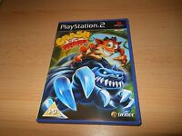 CRASH OF THE TITANS monsters edition  SONY PLAYSTATION 2 PS2 PAL mint