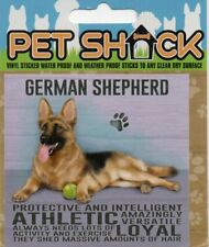 """CLASSIC SIGN AND DESIGN - """"GERMAN SHEPHERD"""" DOG/PUPPY/STICKER     *NEW & SEALED*"""