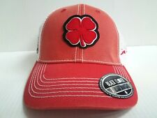 da68a3ec63d Maryland Terrapins Black Clover Cap Lucky Mesh Vintage Adjustable Golf Hat
