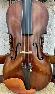 Amazing, ITALIAN old, antique 4/4 labelled violin - READY TO PLAY!