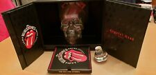 Rolling Stones 50th Anniversary Limited Vodka Crystal Head Empty Bottle CD