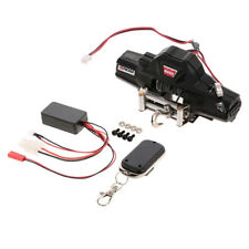 Warn Double Motor Winch w/ Remote Controller Receiver for 1/10 Traxxas SCX10 D91