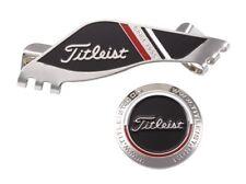 NEW TITLEIST AJBM71-BK Edge Clip Marker BLACK Golf Cap from JAPAN