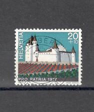 SVIZZERA CH 1026 - 1977 CASTELLI - MAZZETTA  DI 5 - VEDI FOTO