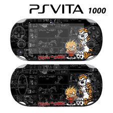 Vinyl Decal Skin Sticker for Sony PS Vita PSV 1000 Calvin Hobbes Comic Tiger 2