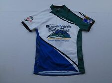 Womens Primal Wear White Buena Vista Bike Fest Colorado Cycling Club Jersey Sz M